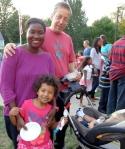 Joy Friedman and family